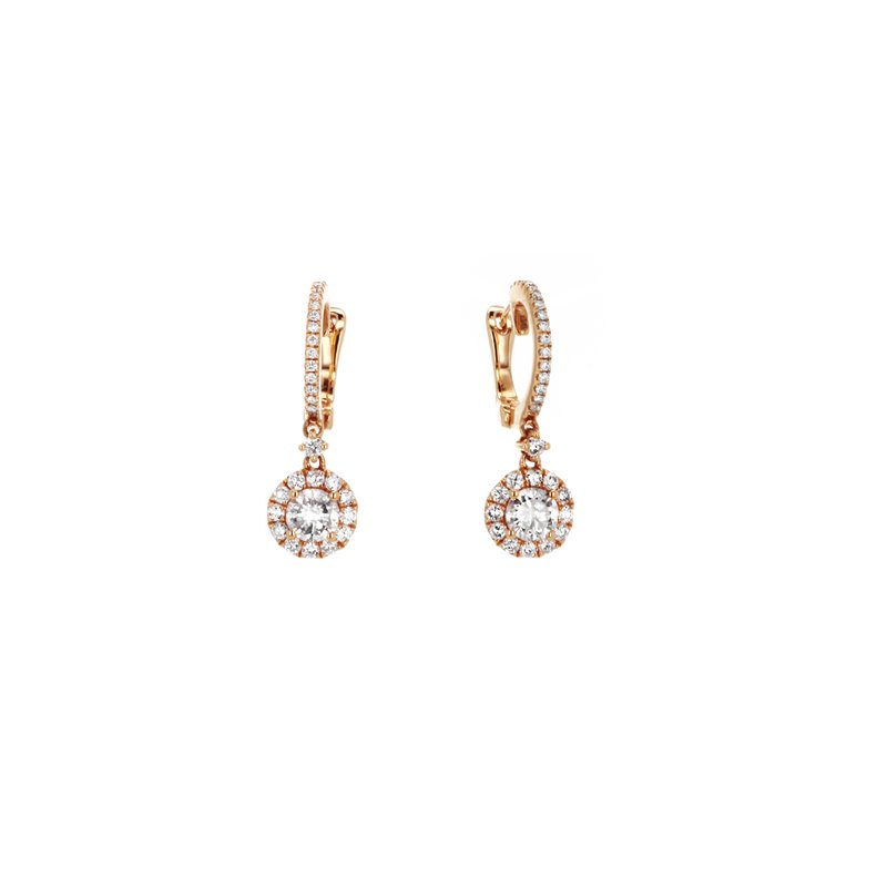 Continental Collection Diamond Drop Earrings