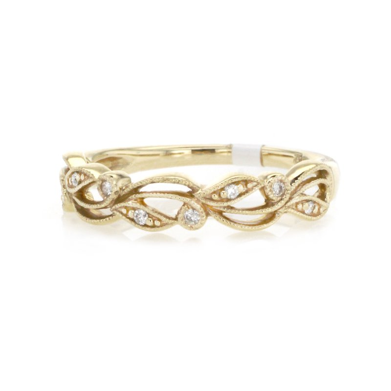 Continental Collection 0.06 ctw Diamond Band