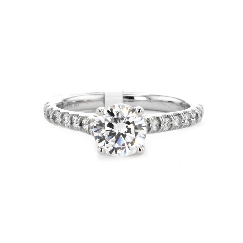 Signature Collection 0.25 ctw Diamond Solitaire