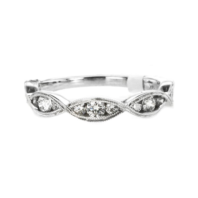Continental Collection 0.52 ctw Channel Diamond Band