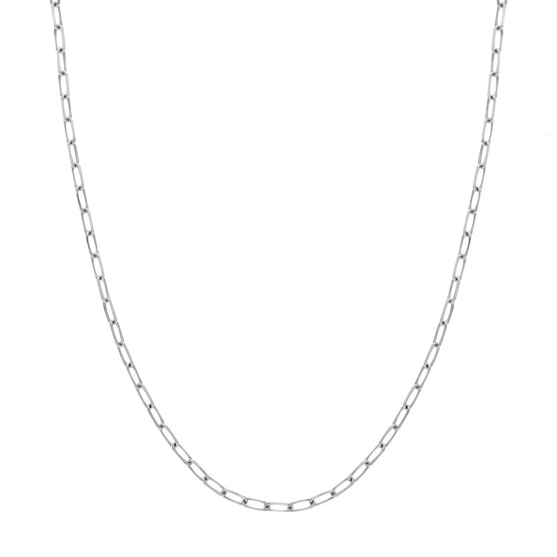 """Continental Collection 18"""" 4MM Paperclip Chain"""