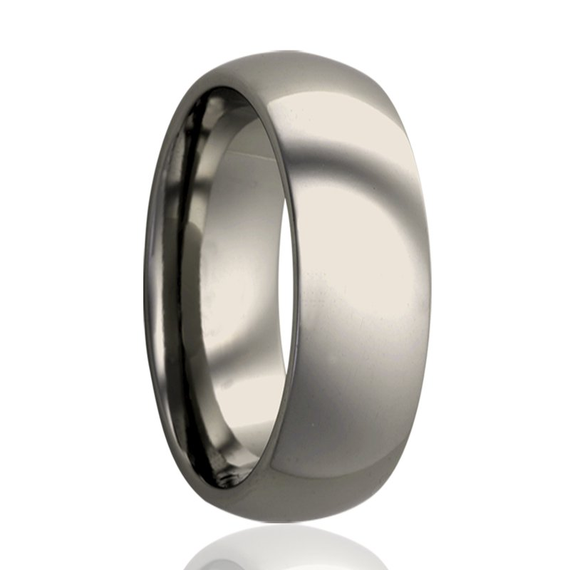 Continental Collection 6MM Titanium Polished Band