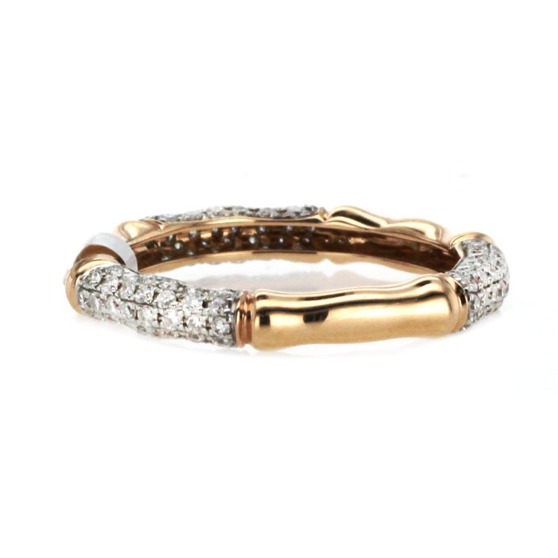 Continental Collection 0.62 ctw Eternity Pave Diamond Band