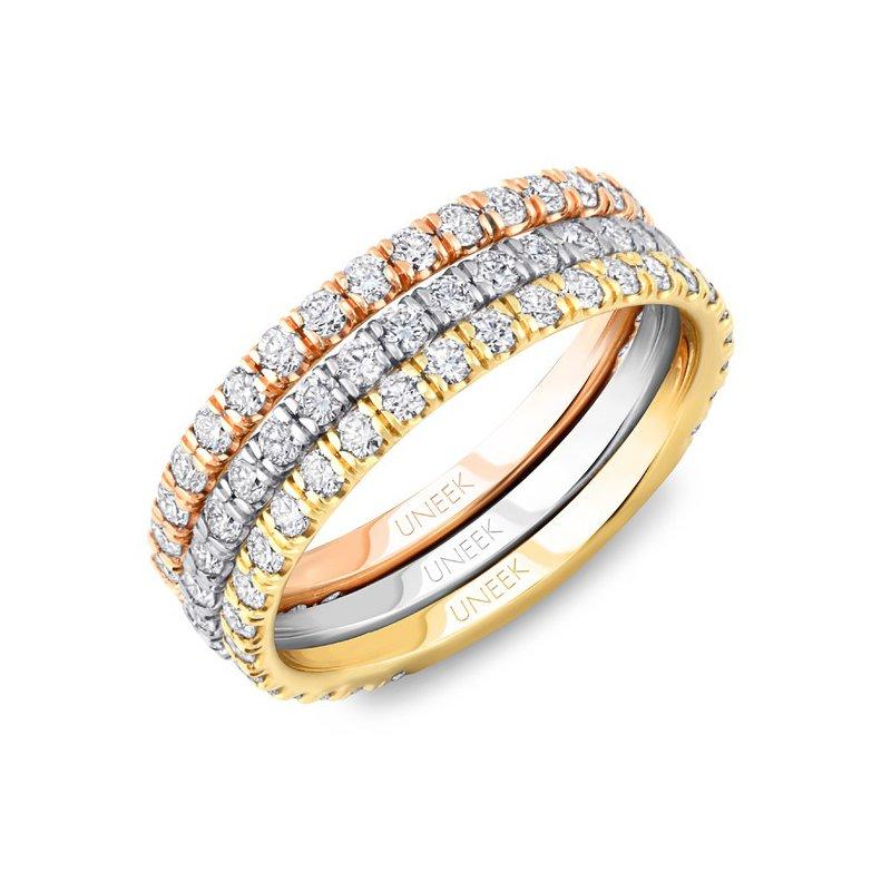 Uneek Fine Jewelry 1.38 ctw Eternity Diamond Band