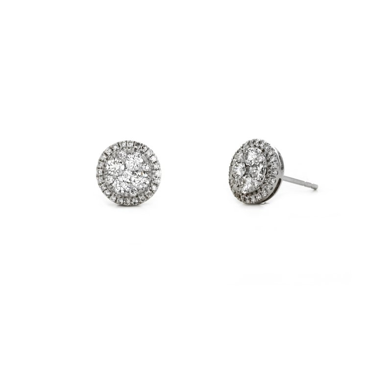 Continental Collection Diamond Fashion Stud Earrings