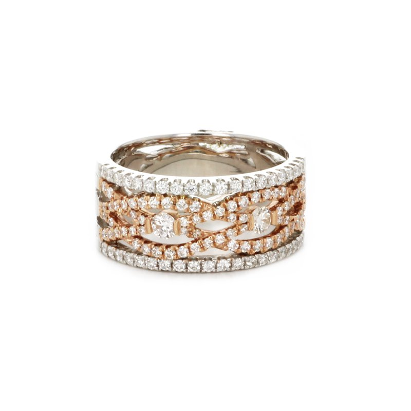 Continental Collection Diamond Infinity Band
