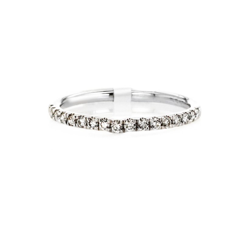 Continental Collection 0.22 ctw Contoured Band