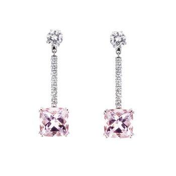 Pink Morganite Earring Jackets