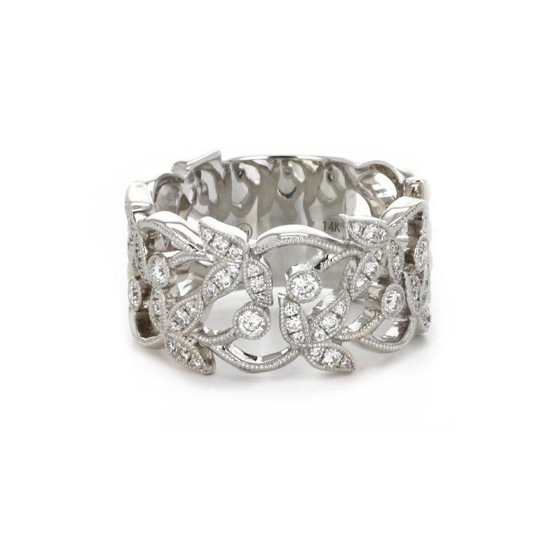 Continental Collection Diamond Filigree Band