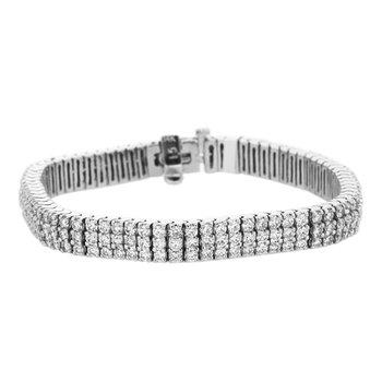 7.10 ctw Diamond Tennis Bracelet