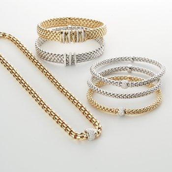 0.23 ctw Diamond Flex Bracelet
