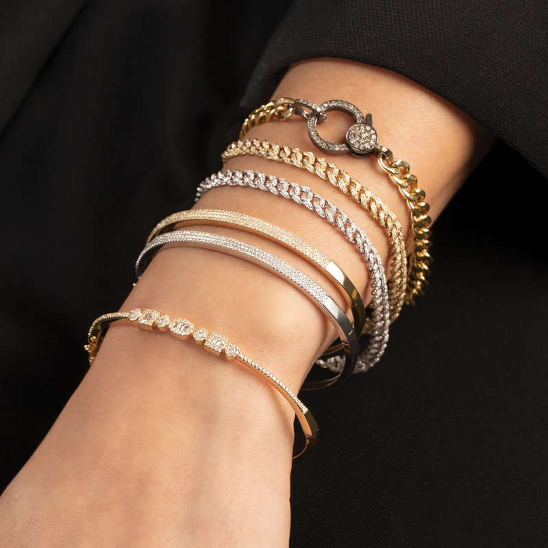 Shy Creation 0.96 ctw Diamond Bracelet