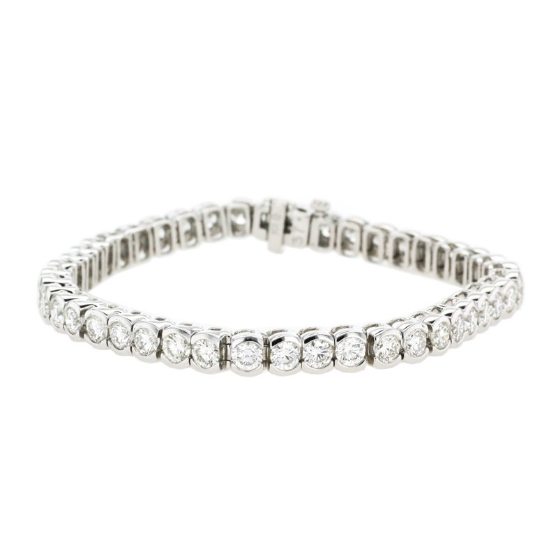 Continental Collection 8.25 ctw Diamond Tennis Bracelet
