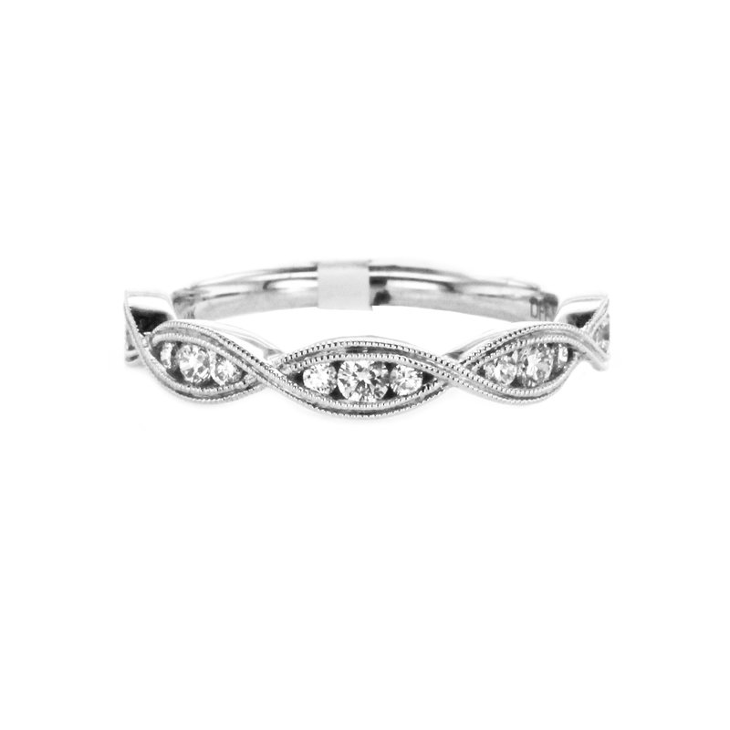 Continental Collection 0.34 ctw Channel Set Diamond Band