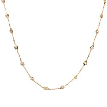 8.85 ctw Diamond by the Yard Necklace