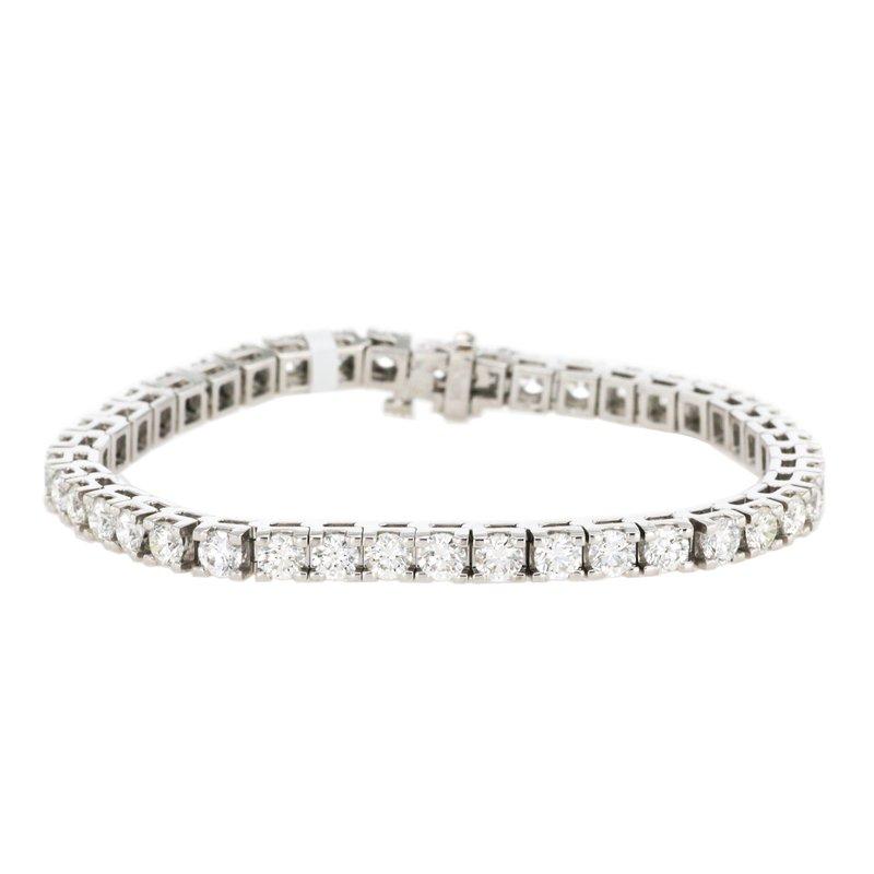 Continental Collection 7.04 ctw Diamond Tennis Bracelet