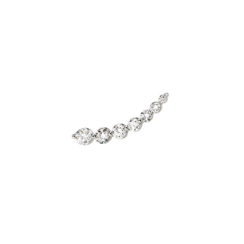 Continental Collection Diamond Ear Crawler