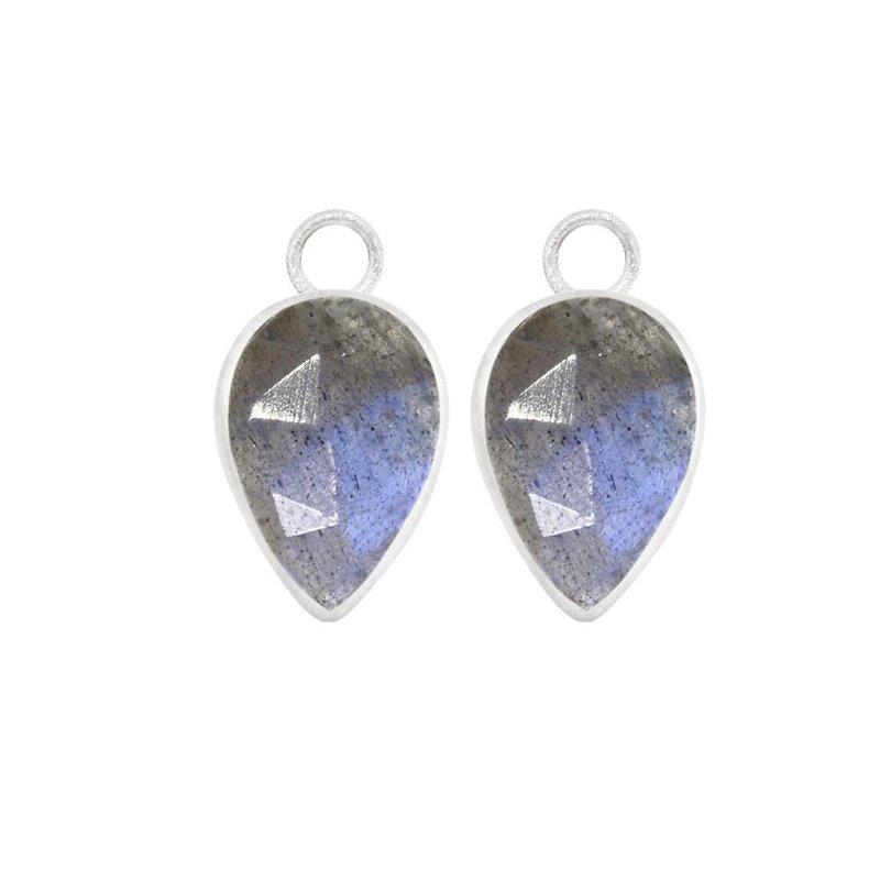 Nina Nguyen Designs LABRADORITE SILVER EARRING JACKETS