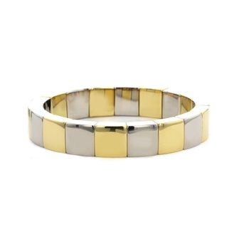 Square Pura Stretch Bracelet