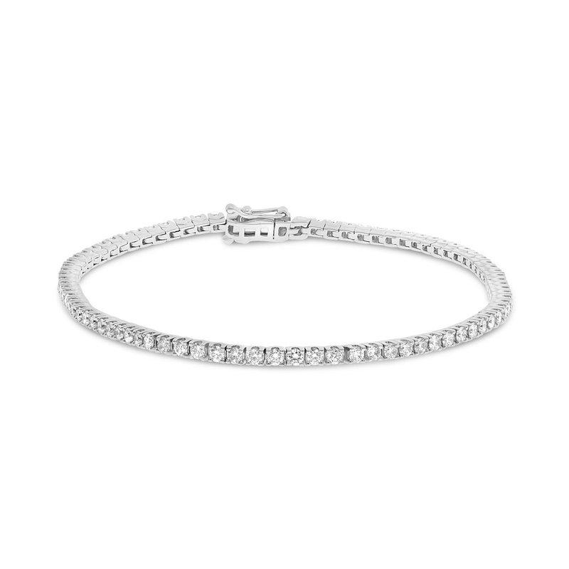 Continental Collection 2.00 ctw Diamond Tennis Bracelet