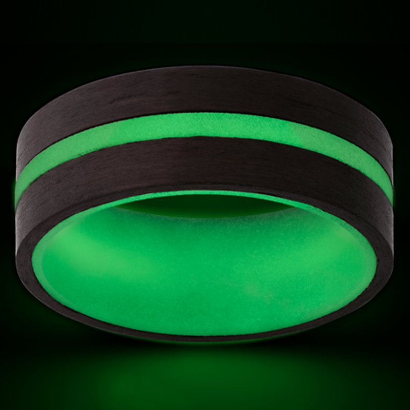 Continental Collection 8MM Carbon Glow Band