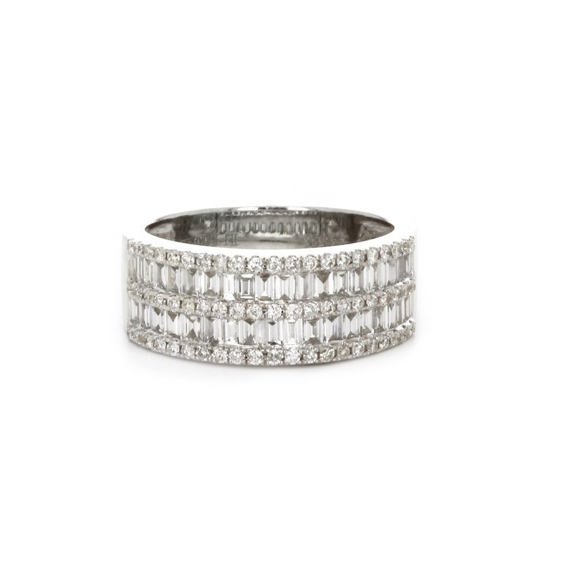 Continental Collection Channel Set Diamond Ring
