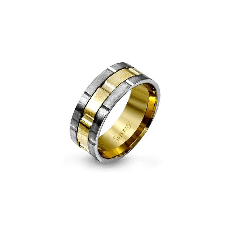Simon G Jewelry Chain Link Band