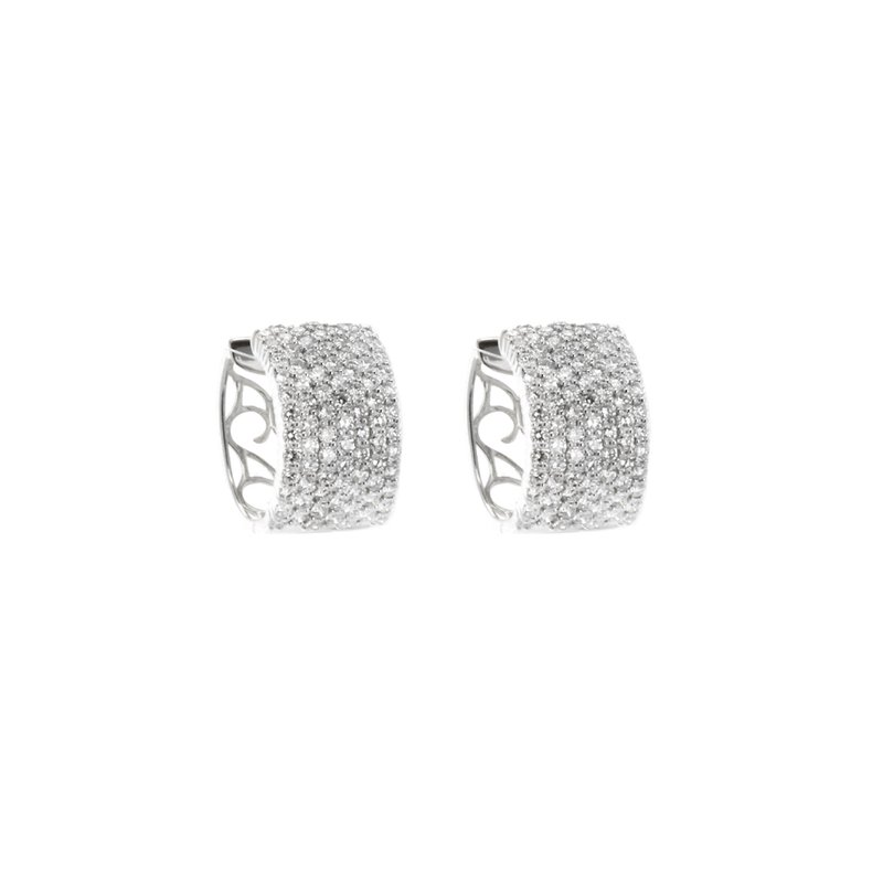 Continental Collection Diamond Earrings