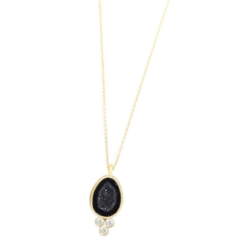 Nina Nguyen Designs LILLY GEODE 18K NECKLACE
