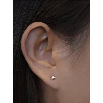 Micro Aztec North Star Diamond Studs