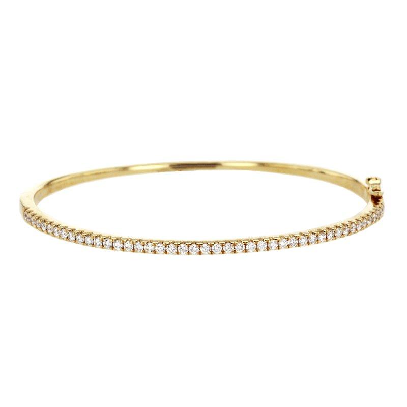Continental Collection 0.82 ctw Diamond Bangle Bracelet