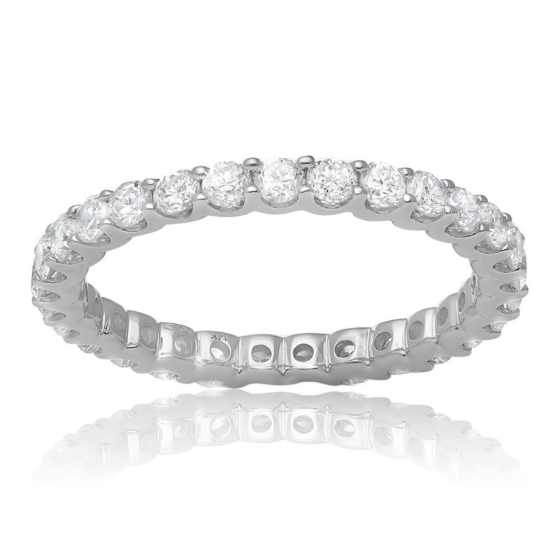 Continental Collection 1.12 ctw Eternity Diamond Band