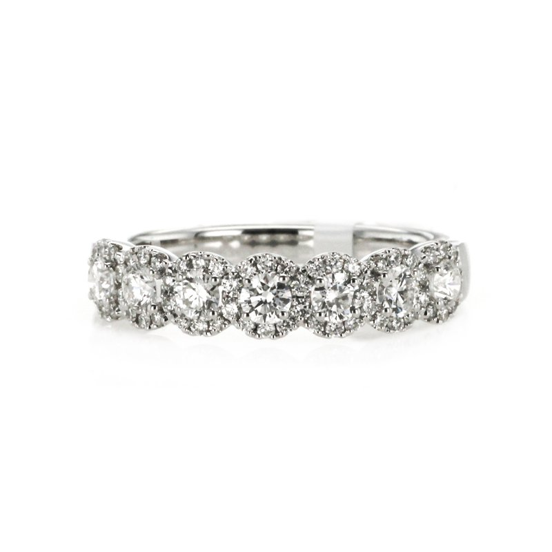 Continental Collection 0.75 ctw Diamond Band