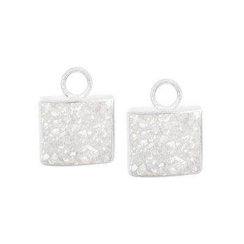 DRUZY WHITE SPIRIT EARRING JACKETS