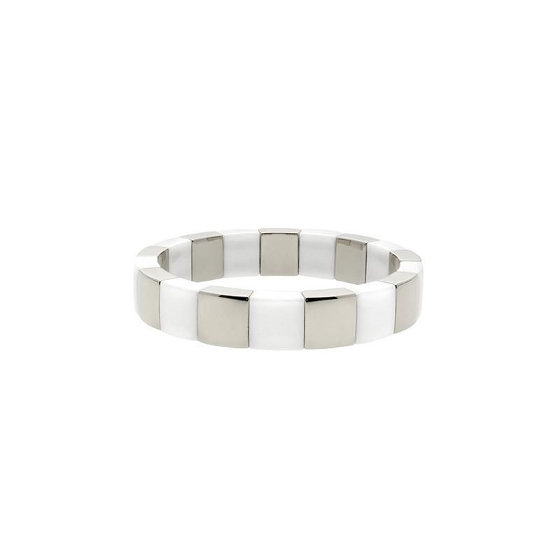 Roberto Demeglio Square Aura Stretch Bracelet