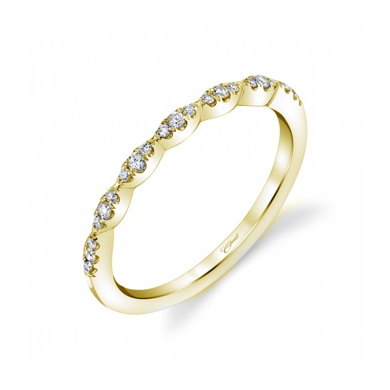 Continental Collection 0.12ctw Diamond Band