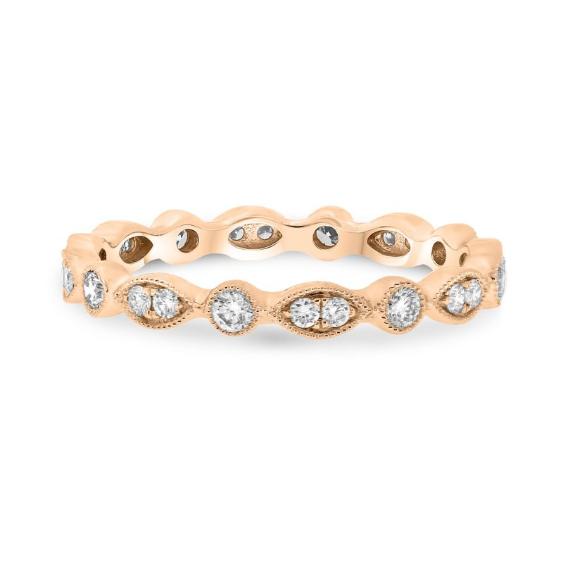 Continental Collection 0.17ctw Eternity Diamond Band