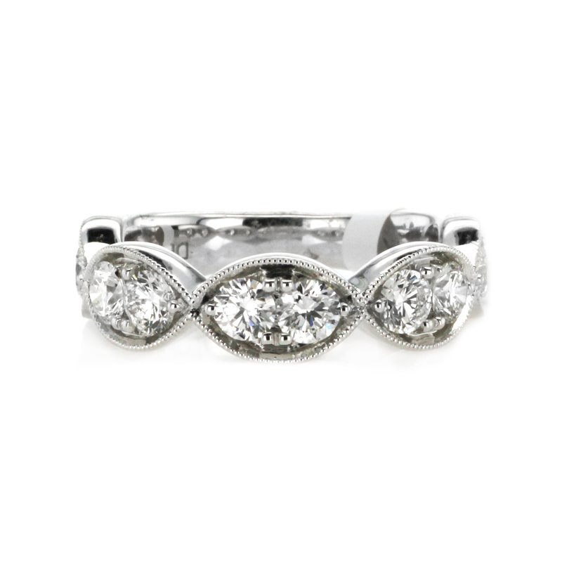 Continental Collection 1.55 ctw Diamond Band