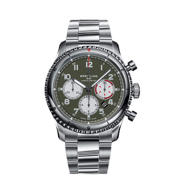 Aviator 8 B01 Chronograph 43MM Curtiss Warhawk