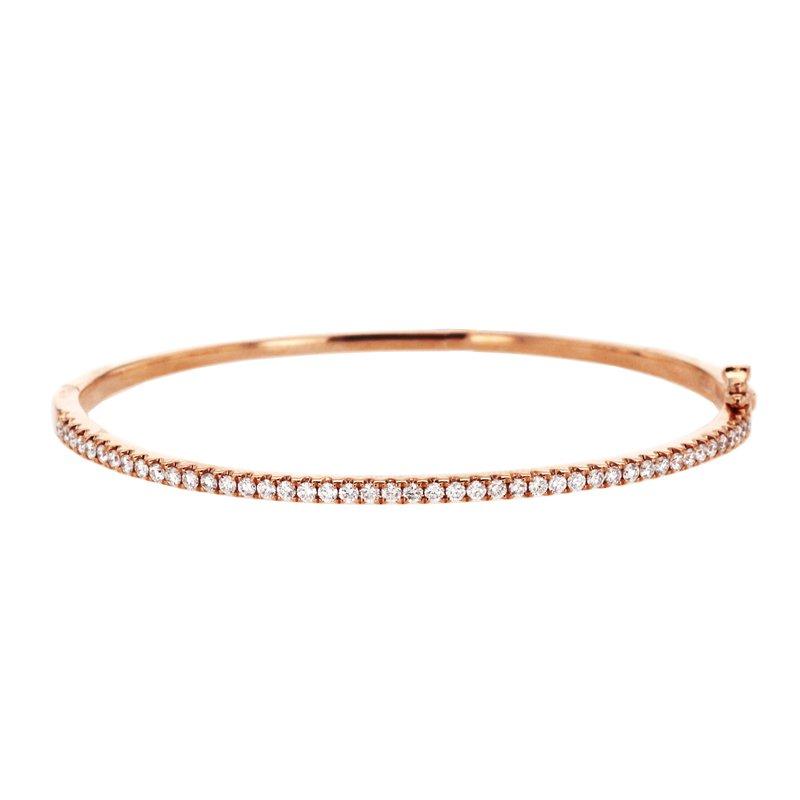 Continental Collection 0.85 ctw Diamond Bangle Bracelet
