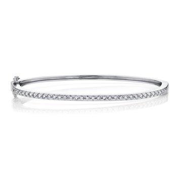 0.74 ctw Diamond Bangle Bracelet