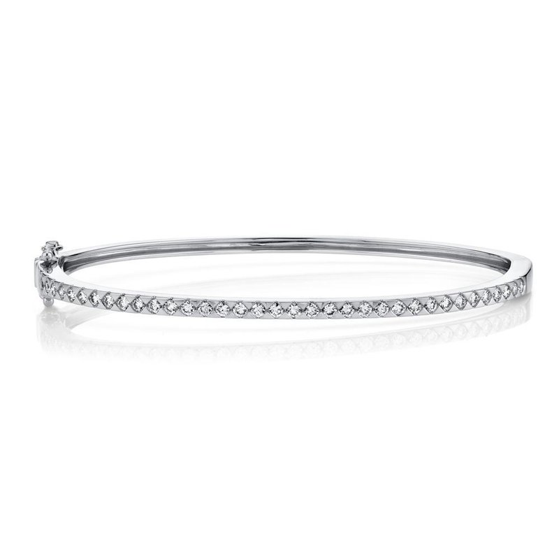 Shy Creation 0.74 ctw Diamond Bangle Bracelet