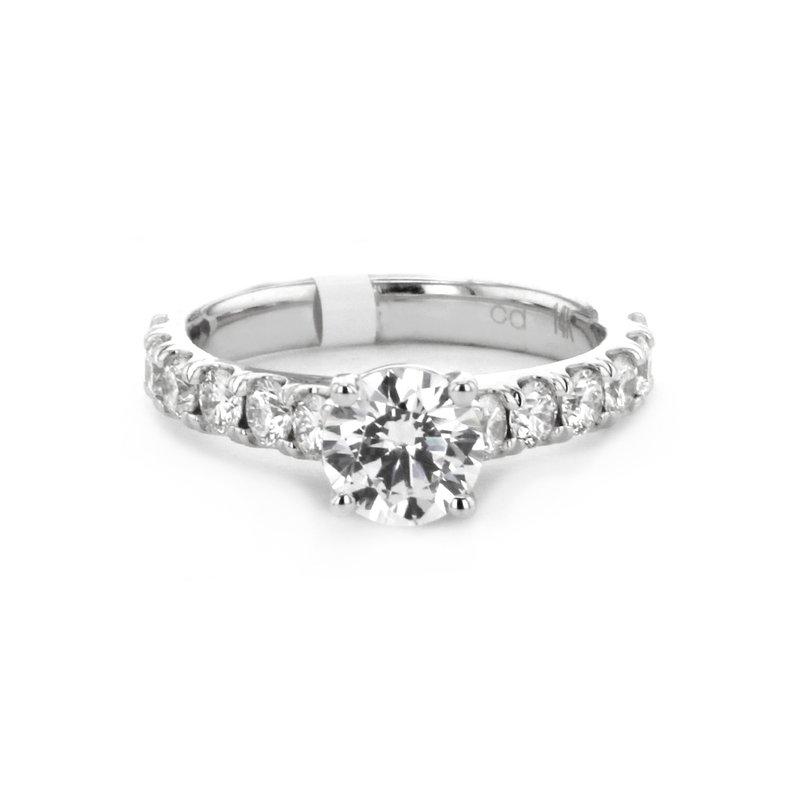 Signature Collection 0.90 ctw Diamond Solitaire