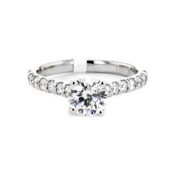 0.47 ctw Diamond Solitaire
