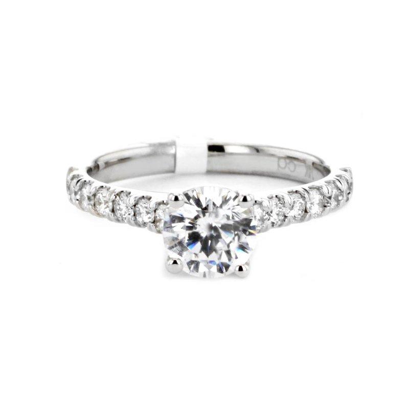 Signature Collection 0.47 ctw Diamond Solitaire