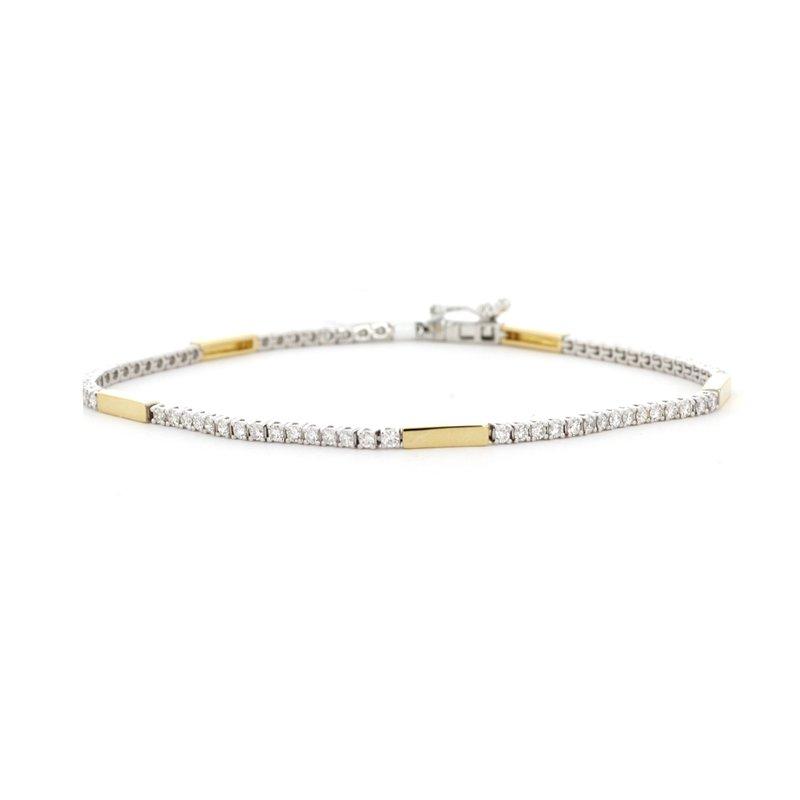 Continental Collection 1.15 ctw Diamond Tennis Bracelet