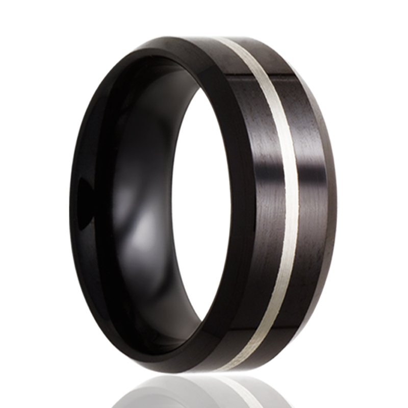 Continental Collection 8MM Ceramic Band