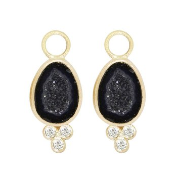 LILLY GEODE 18K EARRING JACKETS
