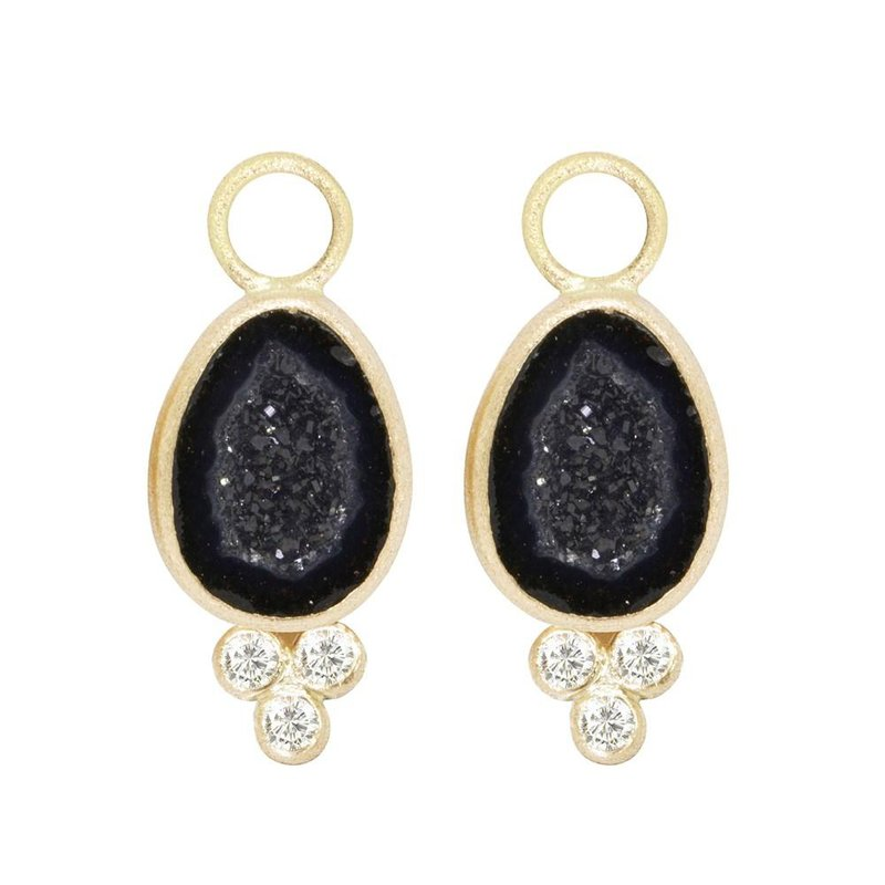 Nina Nguyen Designs LILLY GEODE 18K EARRING JACKETS
