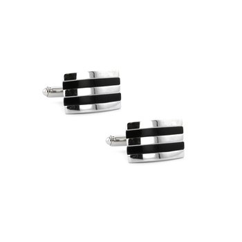 Black Onyx Cuff Links